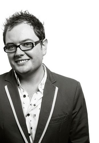 A is for Alan Carr - going to see him in July x