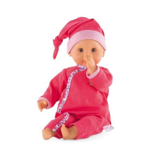 Ce Premier Poupon Calin A La Taille Ideale Pour Etre Tendrement Cajole Et Promene Dans Les Petits Bras De Votre Enfant La Souplesse De Son Poupon Poupee Calin