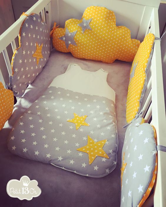 B b on pinterest - Tour de lit bebe nuage ...