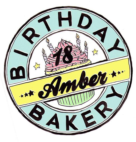 Birthday Bakery gift box design