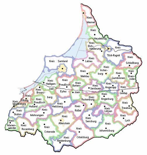 Ostpreußen/Genealogische Quellen – GenWiki