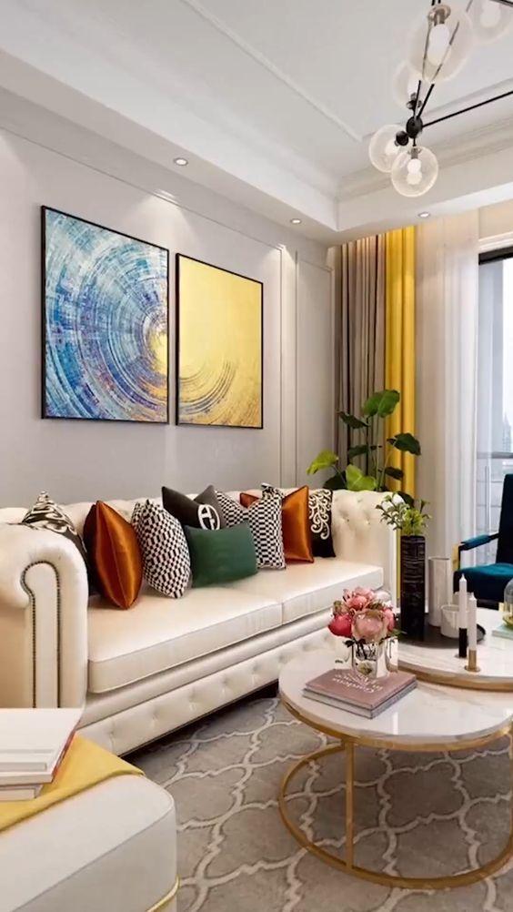 Como Decorar Salas Modernas 2019 Tendencias En Salas Modernas 2019 2020 Fotos Salas Modernas Salas Living Room Grey Elegant Living Room Living Room Canvas