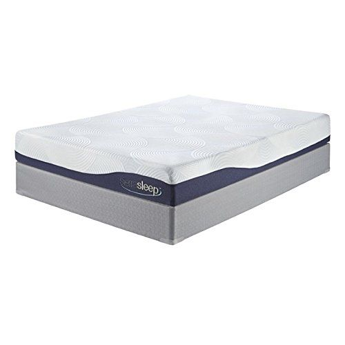 Gel Foam Mattress In White King 80 In L X 76 In W X 10 In H