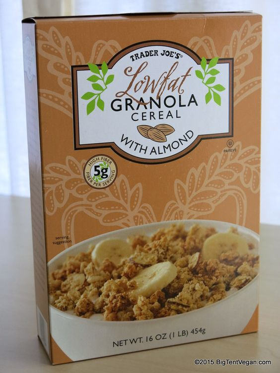 Low Fat Granola Cereal 22