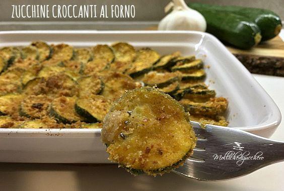 Le zucchine croccanti al forno sono un contorno facile, economico e decisamente saporito, se anche a voi capita di dover insaporire le verdure