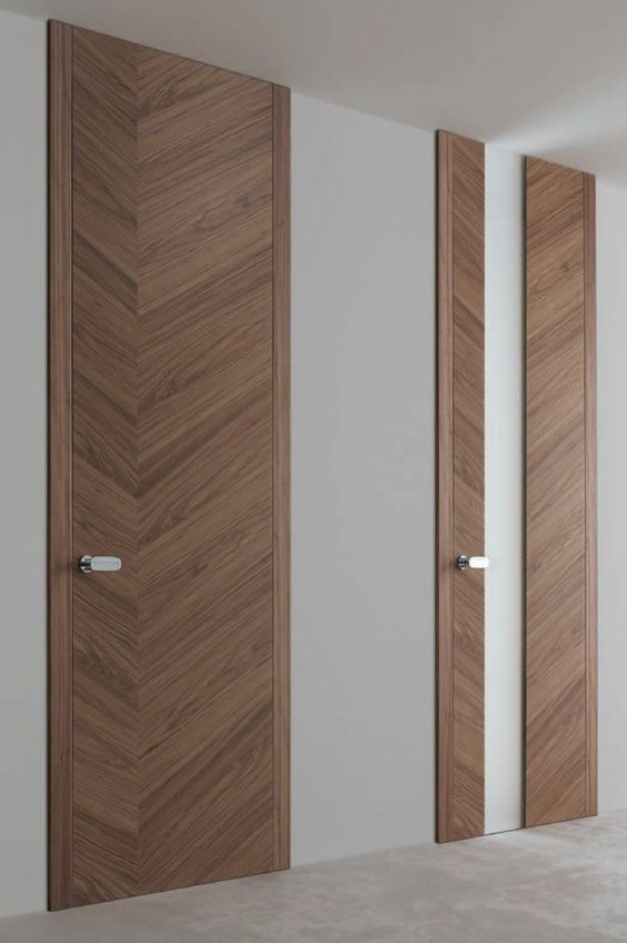 Hinged wooden door tokyo ghizzi benatti wooden for Office main door design