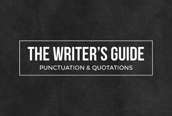 punctuation for quotations in essays We use quotation marks with direct quotes to use someone else's words in your writing how to deal with quotation marks and punctuation and.