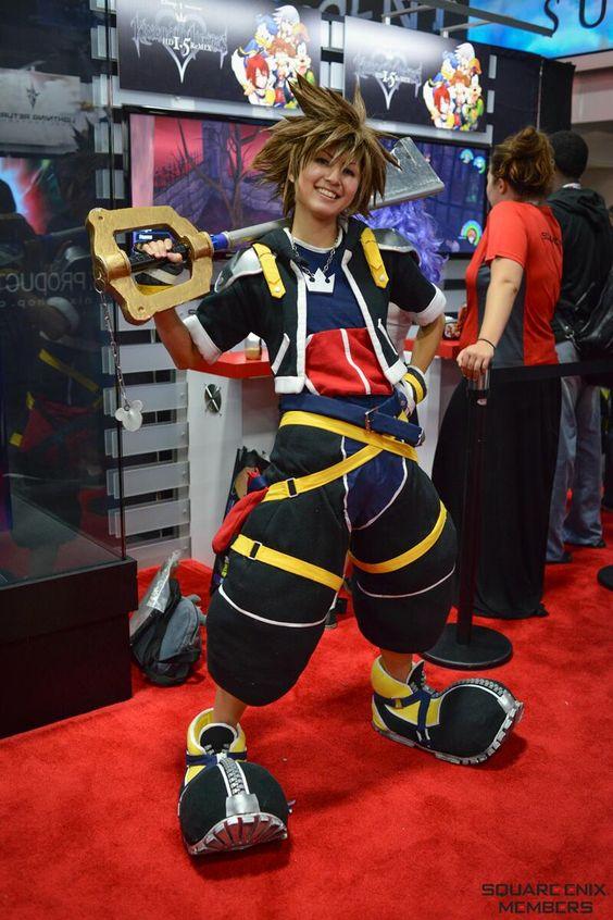 Brilliant Sora Cosplay! - Kingdom Hearts