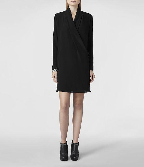 AllSaints Serra Shirt Dress | Womens Dresses