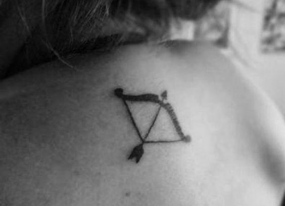 Sagittarius tattoo.