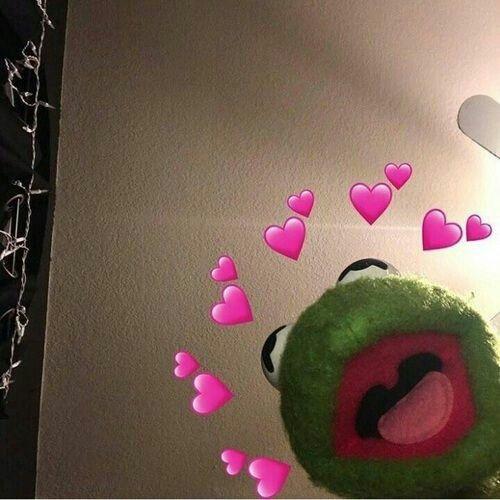 Pin On Kermit Heart Mood