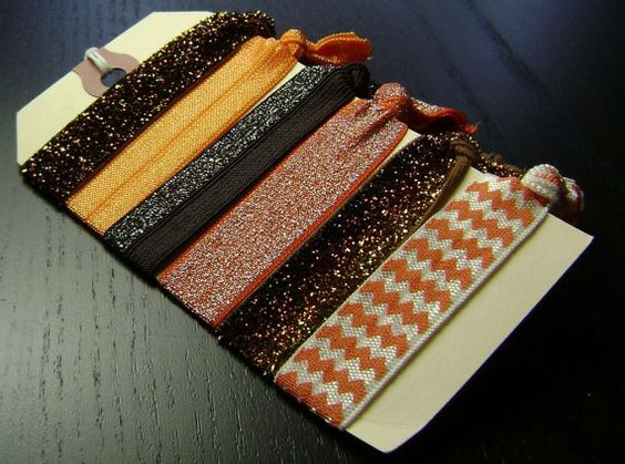 Cleveland Browns Hair Ties ... 6ct. by designstudio504 on Etsy, $11.00