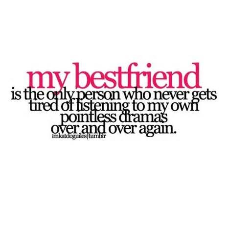 I Love You Bestfriend Quotes Awesome Thanks Guys You've All Helped Me Through So Much And Changed My