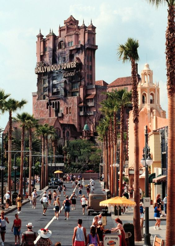 Tower Of Terror- Hollywood Studios Walt Disney World. -- This ride is so much fun with a bunch of teenage girls from Brazil...screaming their heads off!  Great stress reliever!!