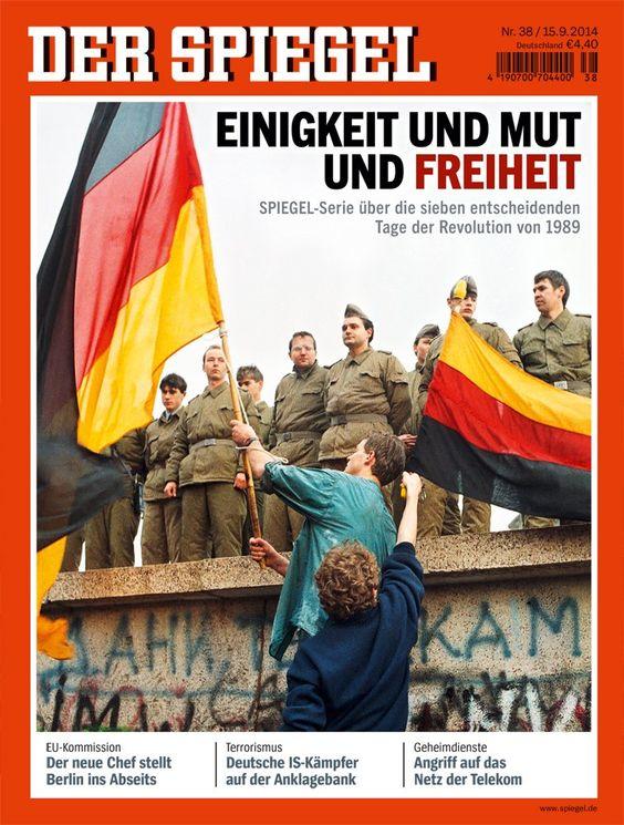 DER SPIEGEL 38/2014: Einigkeit und Mut und Freiheit: Amazon.de: Wolfgang Büchner, Klaus Brinkbäumer, Clemens Höges: Bücher