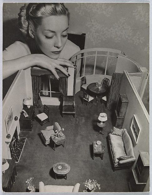 André Kertész | Model with Room Designed by Grace Meyercord | The Met: