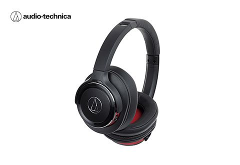 Audio Technica Solid Bass Wireless Over Ear Headphones With Built In Mic And Control Sharper Image Over Ear Headphones Audio Technica Headphones