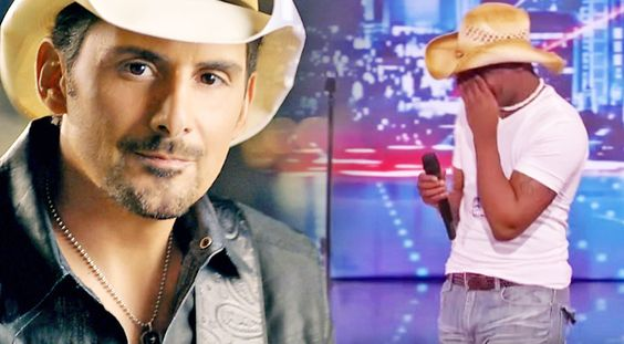 Country Music Lyrics - Quotes - Songs Brad paisley - Young Man Stuns Judges With…