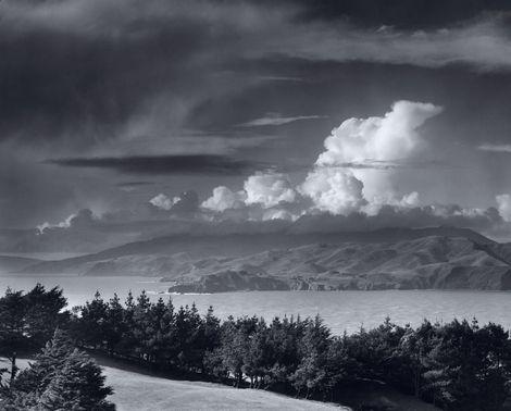 ansel adams prints   Ansel Adams, Golden Gate Headlands , 1950
