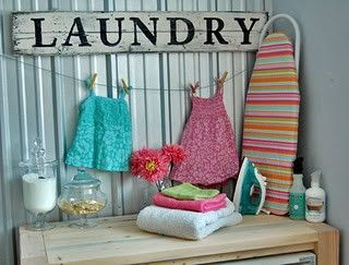 Home-Styling | Ana Antunes: Laundry Day!