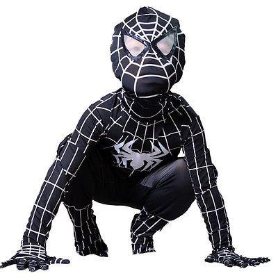 Boy venom black #spiderman costume kids halloween superhero #cosplay full #bodysu,  View more on the LINK: http://www.zeppy.io/product/gb/2/322165441295/