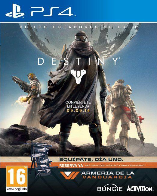 Destiny - Edición Vanguard: playstation 4: Videojuegos