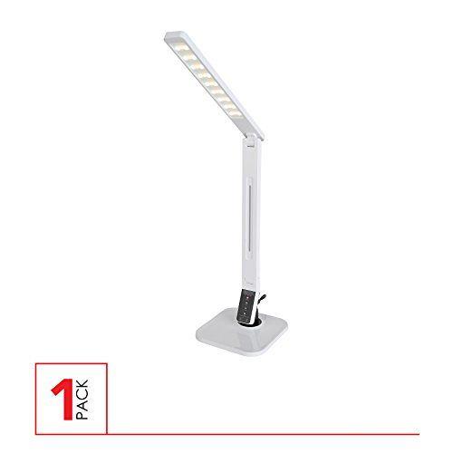 Led Dimmable Desk Lamp 4 Modes 5 Level Dimmer Touch Sensitive Usb Port Desk Lamp White Tablelamps Lamp Desk Lamp Black Desk Lamps