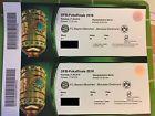 #Ticket  2 Tickets für das DFB-Pokalfinale FC Bayern München  Borussia Dortmund Berlin #deutschland