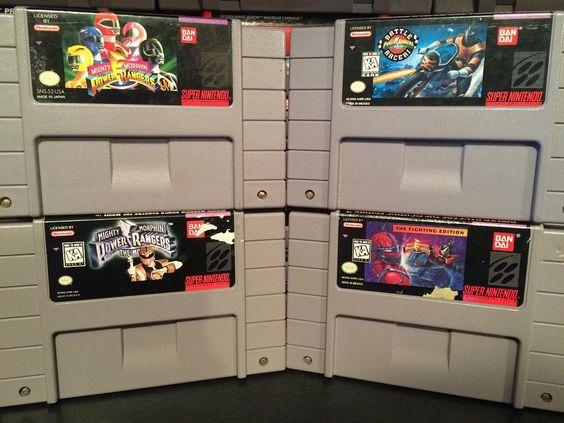 Shared by growlybear4000 #supernintendo #microhobbit (o) http://ift.tt/1O3co9i Rangers collection on the snes. #powerrangers #powerranger #mightymorphinpowerrangers#powerrangerszeo #zeorangers #nintendo  #snes #retrovideogames #videogames #videogamecollection #play #games #gaming #nostalgia #nostalgic