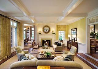 Living Room by Timothy Macdonald and Frank Greenwald in Wainscott, New York
