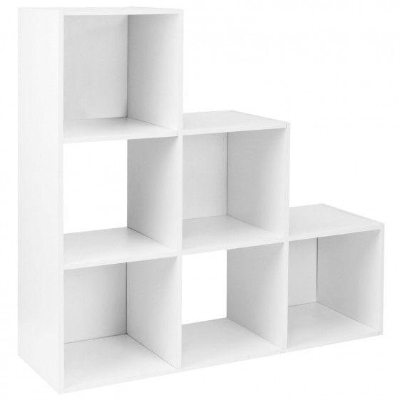 Hartleys White 6 Cube Storage Unit Cube Storage Unit Cube