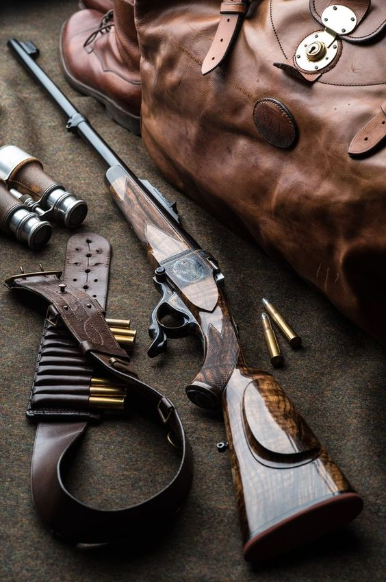 "450-400 3"" Westley Richards Farquharson rifle 