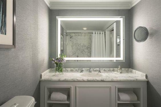 Badspiegel mit LED Beleuchtung - M18L2V Steffis Traumbad - badezimmerspiegel mit tv