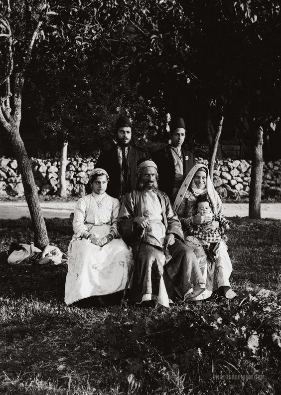 Group of Yemenite Jews. Palestine 1900-1920
