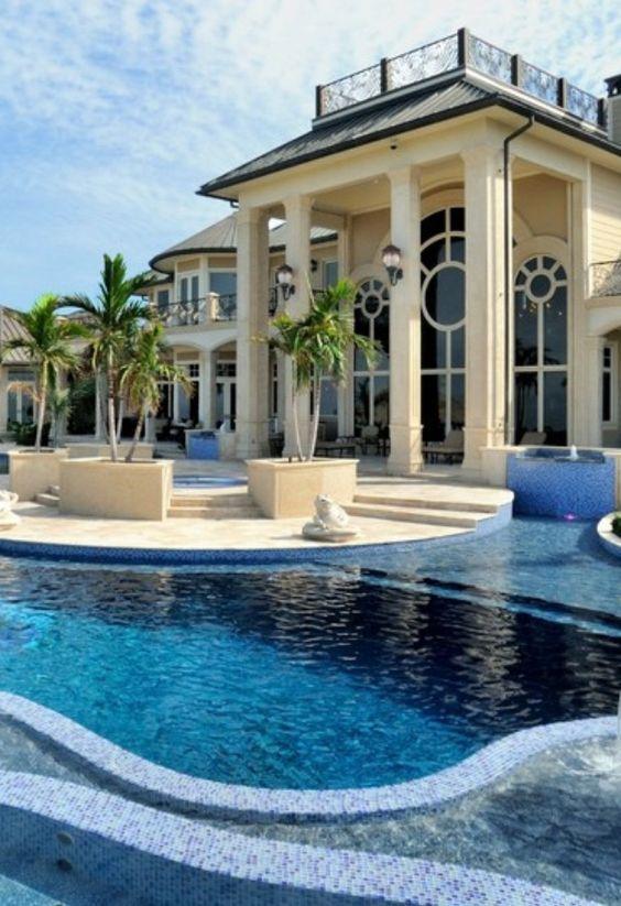Immaculate resort style backyard