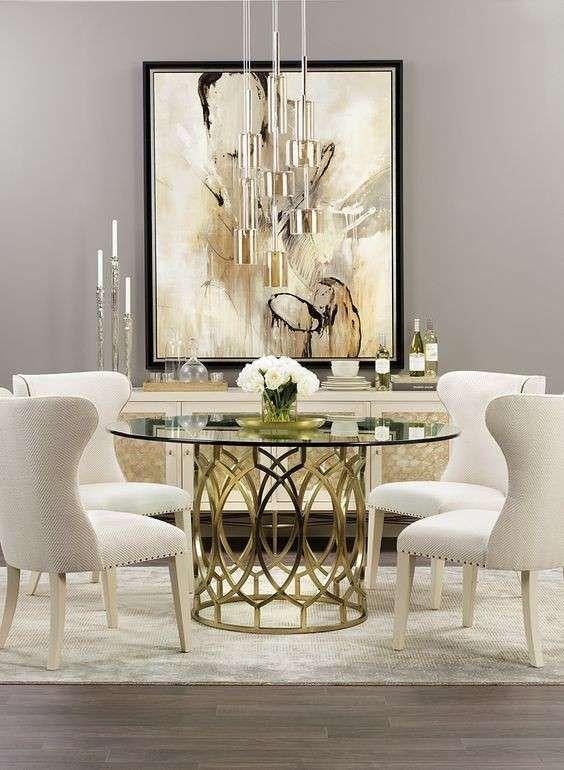 Complementi D Arredo Color Oro I Dettagli Che Fanno La Differenza Arredamento Arredamento Glamour Sala Da Pranzo Lusso