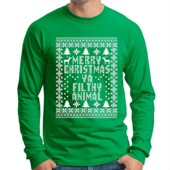 Merry Christmas Ya Filthy Animal T-shirt - Kevin McCallister - Home Alone