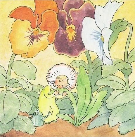 Illustration by Ida Bohatta-Morpurgo (1900-1922)