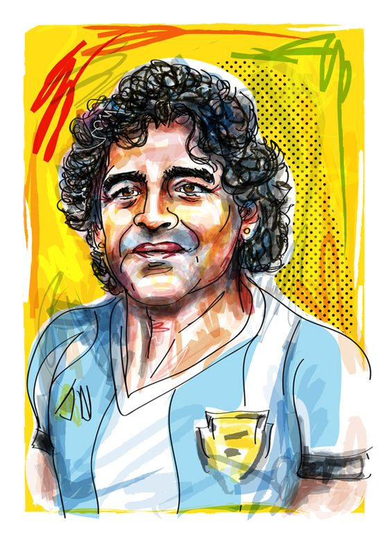 Maradona by Nick Oldham
