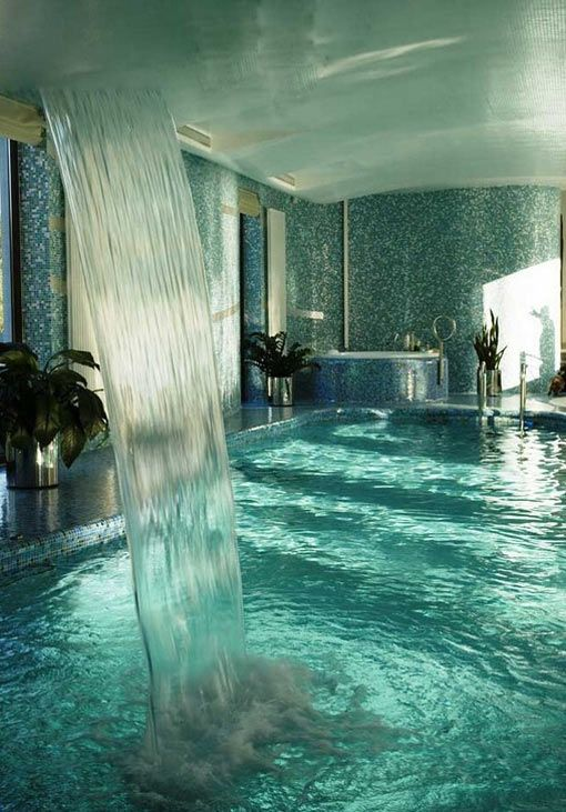 Master bath… | Swimming, Swimming pools and One day