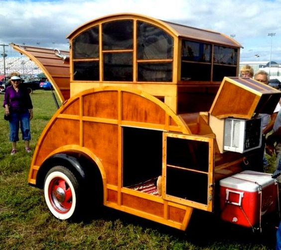 10 Groovy Teardrop Trailers You'll Love - 50 Campfires