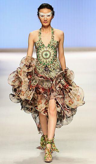 ESMOD Graduate Collection, Spring/Summer 2013, China Fashion Week