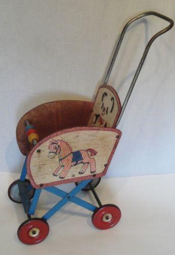 1950 S Doll Stroller Іграшки тисячі років Pinterest