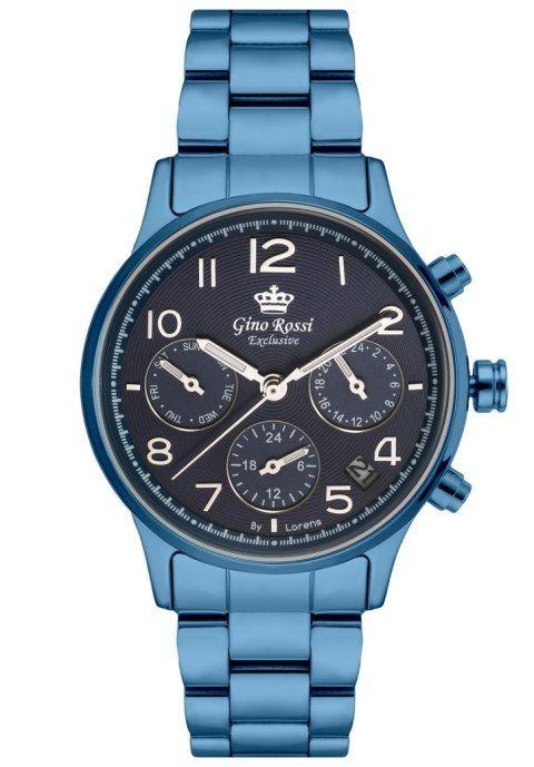Zegarek Damski Exklusive Chronograf Gino Rossi E11643b 6f1 In 2020 Casio Watch Omega Watch Casio