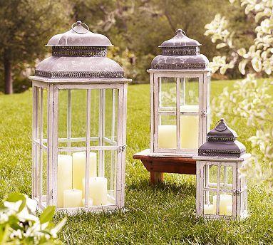 window pane lantern