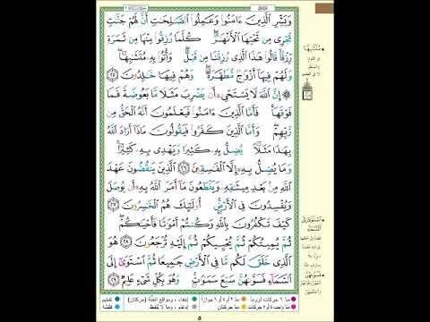الصفحة 5 من المصحف الشريف سورة البقرة مشروع حفظ القرآن الكريم Youtube Journal Bullet Journal Periodic Table
