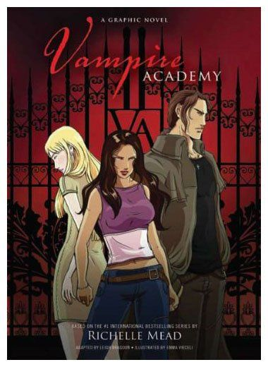 A retelling of Mead's Vampire Academy in graphic novel format. Runaway vampire princess Lissa and her guardian-in-training Rose are found and returned to St. Vladimir's Academy, where one focuses on mastering magic, the other on physical training, while both try to avoid the perils of gossip, cliques, gruesome pranks, and sinister plots. (YA Graphic Novel)