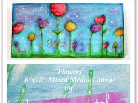 'Flowers' Canvas