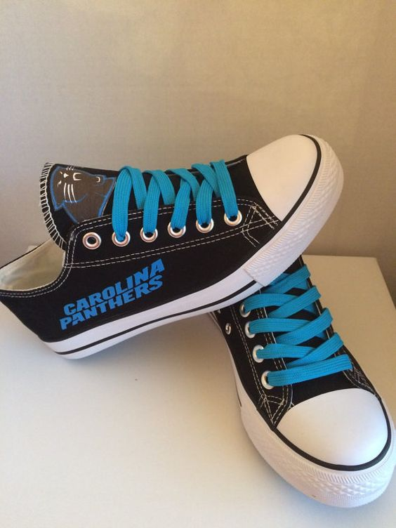 Womens Carolina Panther Tennis Shoes