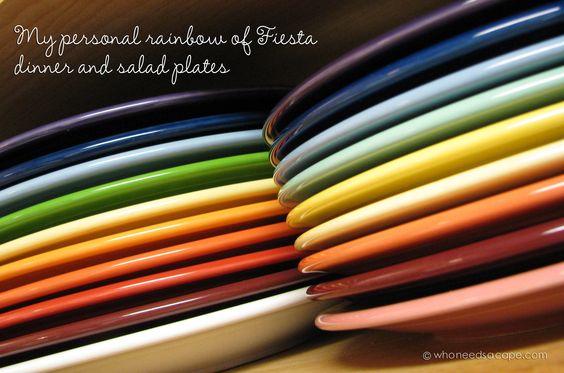 original fiestaware colors - Google Search